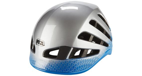 Petzl Meteor - Casco de escalada - azul/blanco